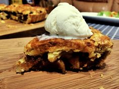 Apple pie a la mode Don't you just want to eat it up?!