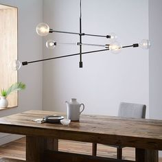 Mobile Chandelier - Grand | west elm - $319 special - IDEA FOR ENTRYWAY