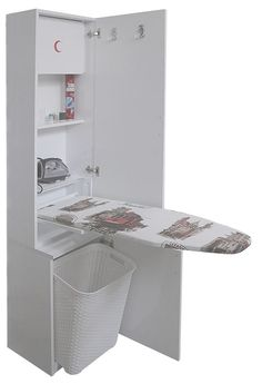 """Excellent """"laundry room storage diy shelves"""" info is available on our site. Check it out and you wont be sorry you did. Laundry Closet, Laundry Room Organization, Small Laundry, Laundry Room Design, Laundry Rooms, Bathroom Closet, Closet Organization, Organization Ideas, Diy Storage"""