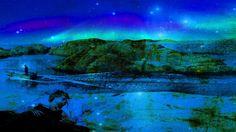 Drømmelandskap Northern Lights, My Arts, Fine Art, Nature, Naturaleza, Nordic Lights, Aurora Borealis, Visual Arts, Nature Illustration
