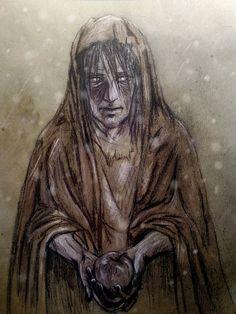 The blind beggar by HOLOI