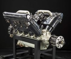 Wright Hispano-Suiza Engine Power rating: 242 kW hp) at rpm… V Engine, Boat Engine, Motor Engine, Hispano Suiza, Aircraft Engine, Vintage Airplanes, Motorcycle Art, Aircraft Design, Top Cars