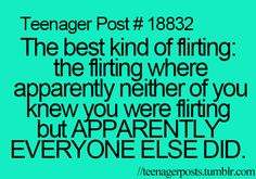Haha I think me and Richard do that's cause everyone says we do but me and Richard say we don't. I don't know