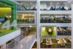 Macquarie Bank / Clive Wilkinson Architects