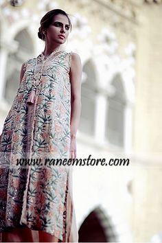 Design HER1153, Product code: HER1153, Elegant Pakistani designer evening wear latest collection 2013 buy online