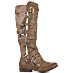 Not Rated's Brown Bon Fire - Taupe for 69.99 direct from heels.com