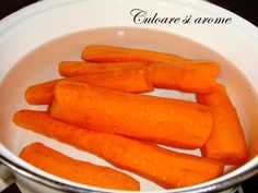 Salata de toamna (opintici, gogosari, ceapa, morcovi) – Culoare si Arome Carrots, Vegetables, Food, Salads, Carrot, Veggies, Vegetable Recipes, Meals, Yemek