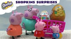 Peppa Pig Shopping Shopkins Special Surprise Peppa's Family Toys Playset...