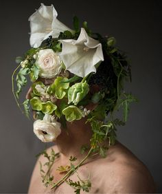 Flower Faces by Kristen Hatgi Sink