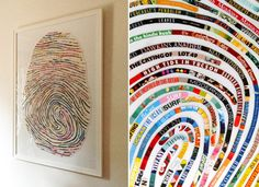 Turn Your Favorite Books Into Art | Books | PureWow Books