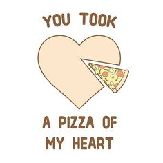 You took a #pizza of my heart ________________________________ #doodleeveryday by @limhengswee #ilovedoodle http://www.ilovedoodle.com https://www.etsy.com/shop/ilovedoodle