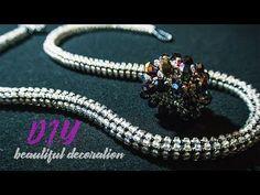 (66) TUTORIAL. Beadcrochet bracelet/ МАСТЕР - КЛАСС.Жгут из бисера - YouTube