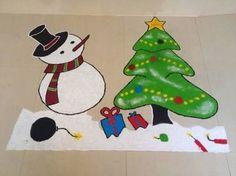 Rangoli Designs for Christmas