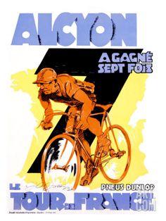 Alcyon, Tour de France Giclee Print by Josse at Art.com