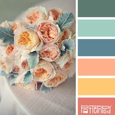 Blushing Blooms #patternpod #patternpodcolor #color #colorpalettes
