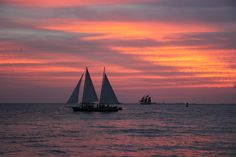 Sunset in Key West, FL.