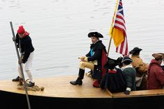 The 61st Annual Christmas Crossing Of The Delaware Brings 200 Reenactors To Washington Crossing Historic Park On Christmas Day, December 25. Thanks for sharing @Visit Philly!