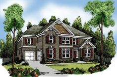 Bungalow Style House Plan - 4 Beds 4 Baths 3687 Sq/Ft Plan #419-193 Front Elevation - Houseplans.com