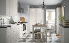 Die Vintage-Küche.