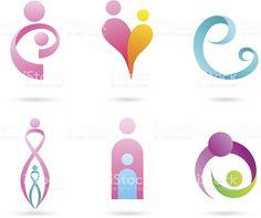 Madre de bebé & illustracion libre de derechos libre de derechos