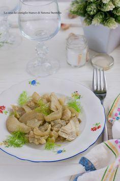 Finocchi in padella facilissimi    Fennel in the pan very easy   La casa del coniglio bianco