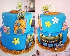 SpongeBob | Oklahoma's Premier Wedding Cake Designer and Sugar Artist