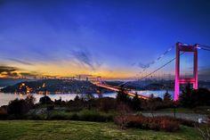 I love Istanbul, Bosphorus Bridge...