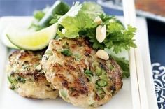 With a kick of sweet chilli, these authentic fish cakes make a quick and yummy meal.