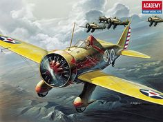 1932 ... Boeing P-26 'Peashooter' by x-ray delta one