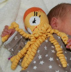 Crochet Octopus Preemie : great initiative, crochet a small octopus for premature babies ...