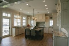 Custom Shaker Cabinets designed by Hanford Cabinet and Woodworking in Old Saybrook, Connecticut for a traditional style kitchen. Inset Cabinets, Bath Cabinets, Custom Kitchen Cabinets, Shaker Cabinets, Custom Kitchens, Custom Cabinetry, Old Saybrook, Wood Floor Kitchen, Luxury Closet