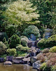Japanese Tea Garden by Gallery Three