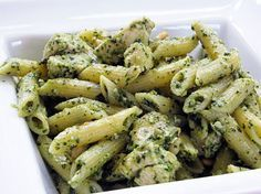 made this amazing chicken pasta pesto dish with our sauce. Our original pesto can seemingly be used with any protein and your favorite type of pasta for a quick, no mess no fuss lunch or dinner! Pesto Chicken Penne, Pesto Pasta, Pasta Salad, Basil Pesto, Creamy Chicken, Cooking Recipes, Healthy Recipes, Pesto Recipe, Pasta Dishes