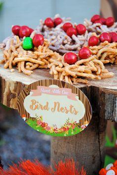 WOODLAND Party- Woodland SHOWER - Woodland Food Labels