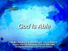 Kids Worship Songs: God Is Able