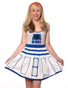 Star Wars R2-D2 Dress!