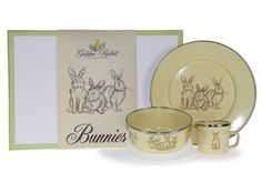 giftboxed includes 4 oz Child Mug, 14 oz Child Bowl & inch Child Plate, 14 x x 3 inch gift box