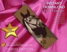 Peyote Pattern Bracelet Cuff Beading Miyuki by BeadingPatterns2013