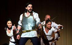 Imatge de la obra de teatre en català per a secundària Tirant lo blanc. Obre de teatre per a ESO y Batxillerat (centres educatius i instituts)