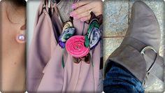 vitrine @ugust@ looks | por leila diniz: colar sal grosso + vestido + jeans + encontro c/amigas + DEUS: a paz é o dom q contém todos os outros.