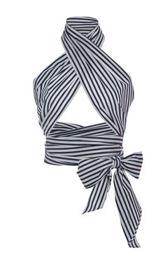 Striped Everything Scarf by MDS Stripes | Moda Operandi