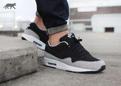 Nike Air Max 1 Essential (Black / Black - Flint Silver)