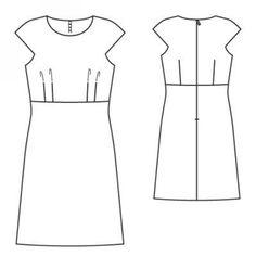 Sukienka: Burda 6/2008/137 / Burdastyle