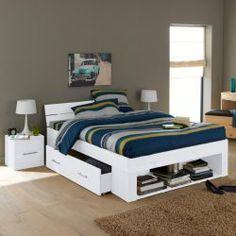 Ensemble lit, tout en un, pin massif, Ireka : notre lit douillet ?!