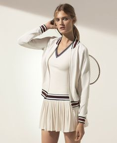 Tory Sport Tennis: Discover a modern play on iconic style — perfect on and off the court. Tory Sport by Tory Burch includes clothing, bags, shoes and accesso. Tennis Wear, Tennis Outfits, Tennis Skirts, Sport Tennis, Golf Wear, Tennis Dress, Tennis Clothes, Sporty Outfits, Tennis Shop