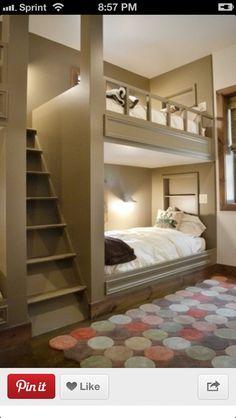 Bunk beds!!