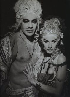 The Face March 2004, Paris is Burning Gisele Bundchen & John Galliano by Peter Lindbergh