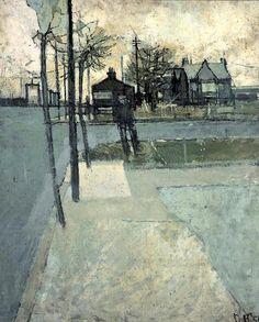 David Hockney - Bolton Junction, Eccleshill (1956)