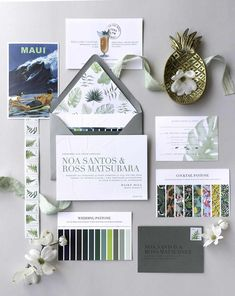 A Greenery-Filled Hawaiian Wedding in a Historic Sugar Mill Pantone, Wedding Terms, Lgbt Wedding, Moet Rose, Old Fashioned Names, Polish Wedding, Ceremony Seating, Tropical, Gold Balloons