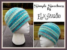 Keep Warm In Style With A Crochet Beanie Hat